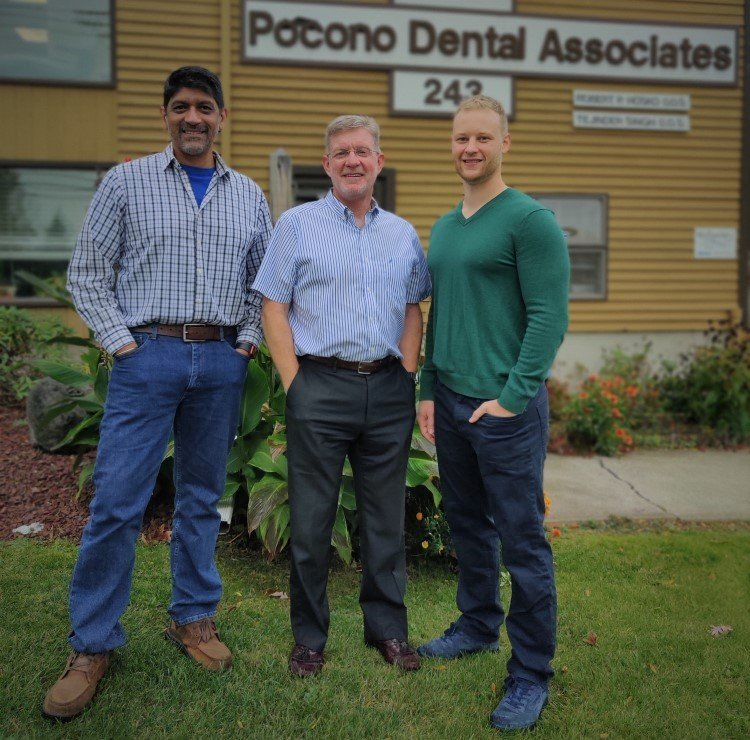 Pocono Dental Associate Doctors Outisde of Office
